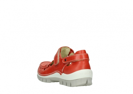 wolky chaussures a bride 04703 move 30570 cuir rouge_5