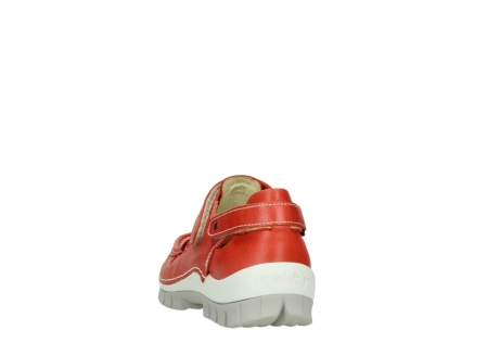 wolky chaussures a bride 04703 move 30570 cuir rouge_6