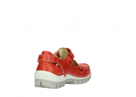 wolky chaussures a bride 04703 move 30570 cuir rouge_9
