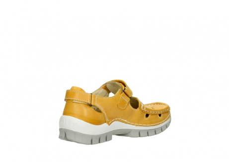 wolky mary janes 04703 move 30900 yellow leather_10
