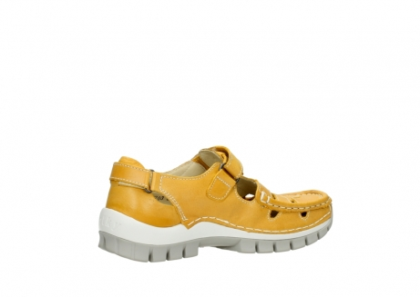 wolky mary janes 04703 move 30900 yellow leather_11