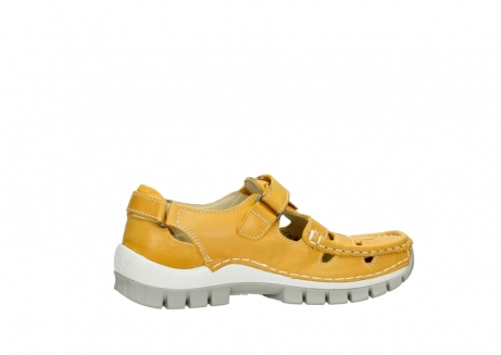 wolky mary janes 04703 move 30900 yellow leather_12