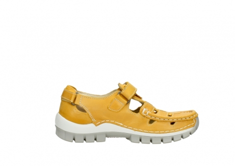 wolky mary janes 04703 move 30900 yellow leather_13