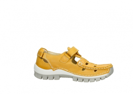 wolky mary janes 04703 move 30900 yellow leather_14