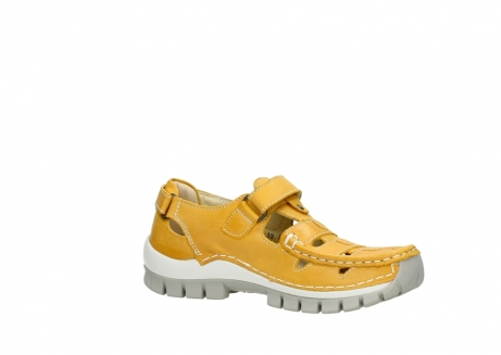 wolky mary janes 04703 move 30900 yellow leather_15