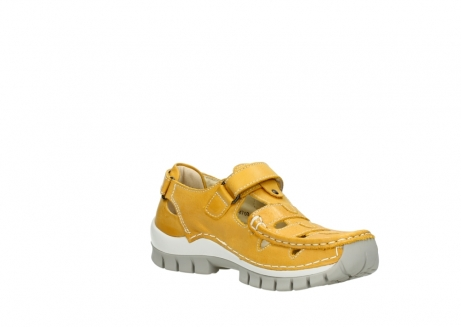 wolky mary janes 04703 move 30900 yellow leather_16