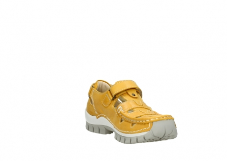 wolky mary janes 04703 move 30900 yellow leather_17