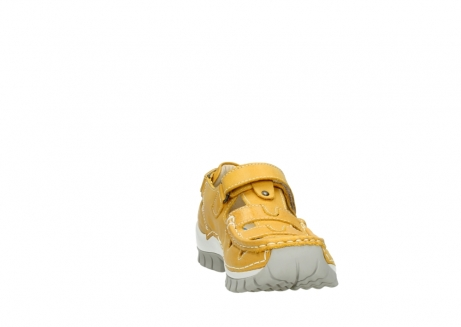 wolky mary janes 04703 move 30900 yellow leather_18