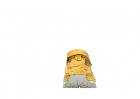 wolky mary janes 04703 move 30900 yellow leather_19