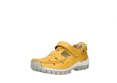 wolky mary janes 04703 move 30900 yellow leather_22