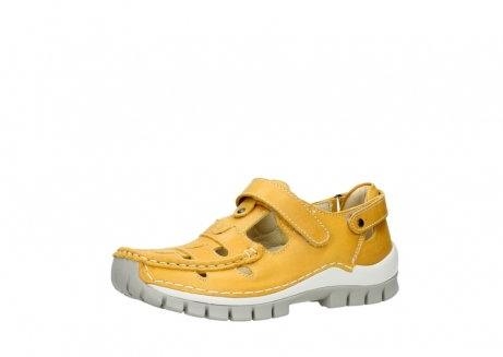 wolky mary janes 04703 move 30900 yellow leather_23