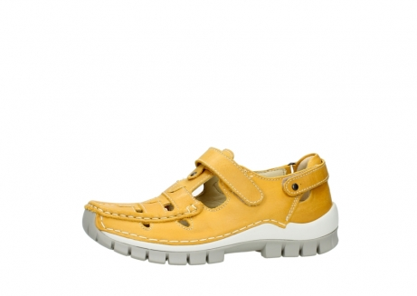 wolky mary janes 04703 move 30900 yellow leather_24