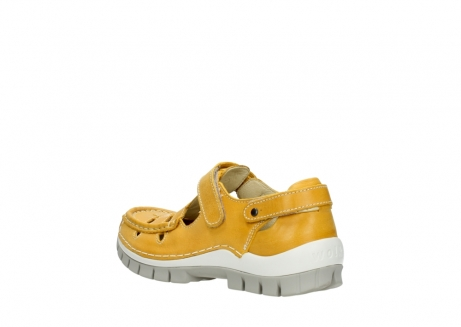 wolky mary janes 04703 move 30900 yellow leather_4