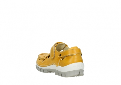 wolky mary janes 04703 move 30900 yellow leather_5