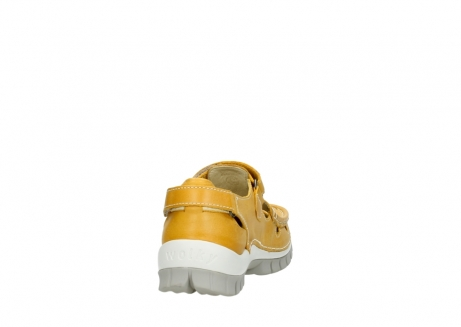 wolky mary janes 04703 move 30900 yellow leather_8