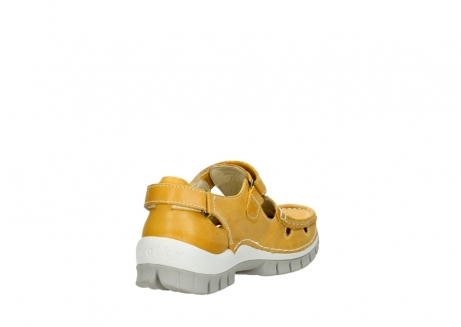 wolky mary janes 04703 move 30900 yellow leather_9
