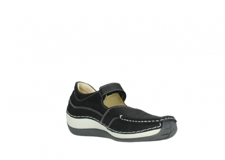 wolky chaussures a bride 04804 elation 10070 nubuck noir_16