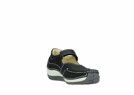 wolky chaussures a bride 04804 elation 10070 nubuck noir_17