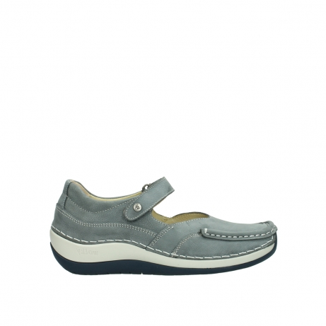 wolky chaussures a bride 04804 elation 10200 nubuck gris