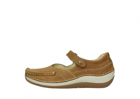 wolky chaussures a bride 04804 elation 10410 nubuck tobacco_1