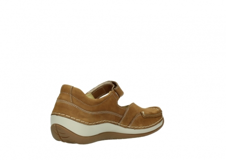wolky chaussures a bride 04804 elation 10410 nubuck tobacco_10