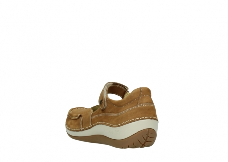 wolky chaussures a bride 04804 elation 10410 nubuck tobacco_5