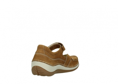 wolky chaussures a bride 04804 elation 10410 nubuck tobacco_9