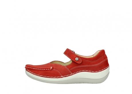wolky chaussures a bride 04804 elation 10570 nubuck rouge_1