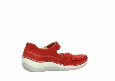 wolky chaussures a bride 04804 elation 10570 nubuck rouge_11
