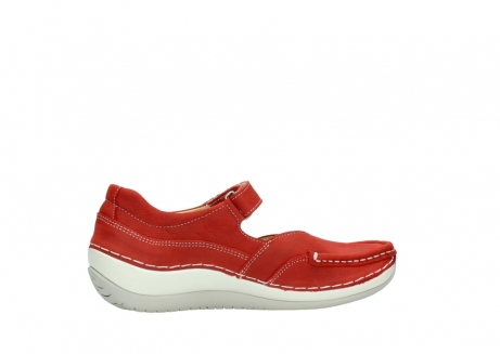 wolky chaussures a bride 04804 elation 10570 nubuck rouge_12