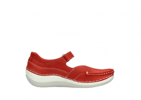 wolky chaussures a bride 04804 elation 10570 nubuck rouge_13