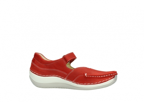wolky chaussures a bride 04804 elation 10570 nubuck rouge_14