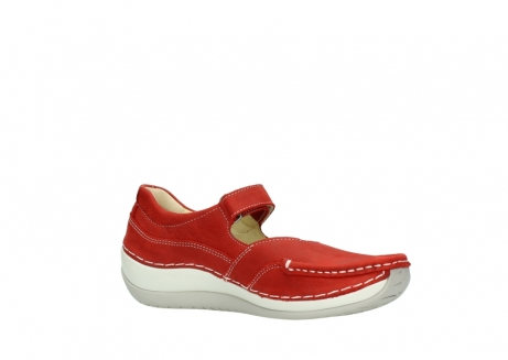 wolky chaussures a bride 04804 elation 10570 nubuck rouge_15