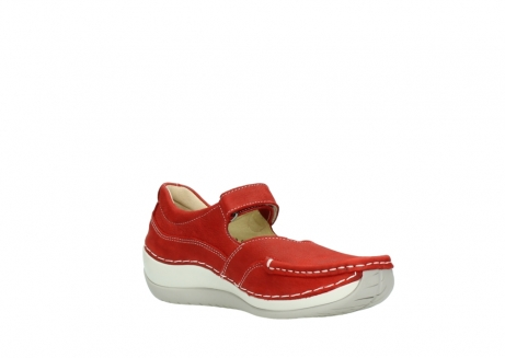 wolky chaussures a bride 04804 elation 10570 nubuck rouge_16