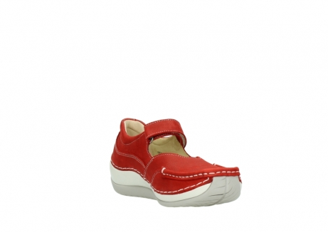 wolky chaussures a bride 04804 elation 10570 nubuck rouge_17