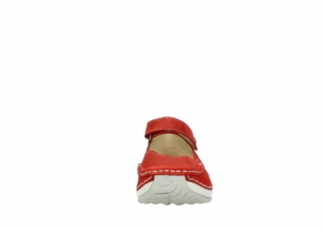 wolky chaussures a bride 04804 elation 10570 nubuck rouge_19