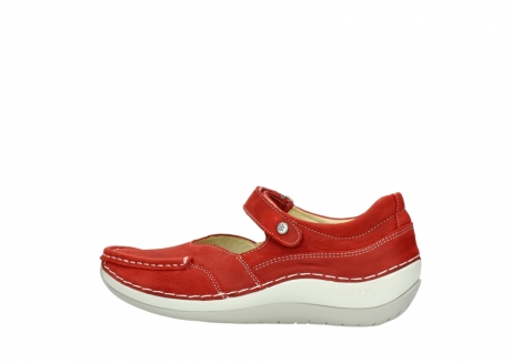 wolky chaussures a bride 04804 elation 10570 nubuck rouge_2