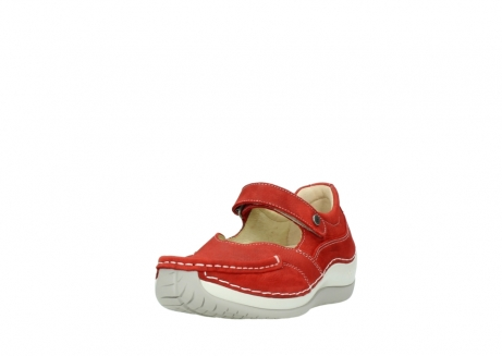 wolky chaussures a bride 04804 elation 10570 nubuck rouge_21