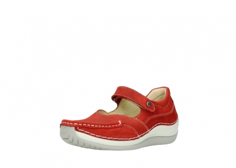 wolky chaussures a bride 04804 elation 10570 nubuck rouge_22