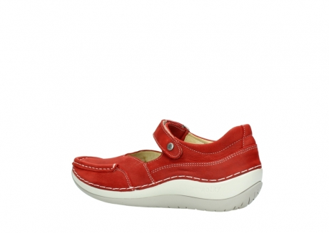wolky chaussures a bride 04804 elation 10570 nubuck rouge_3