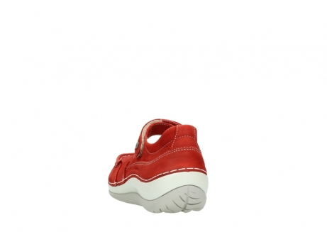 wolky chaussures a bride 04804 elation 10570 nubuck rouge_6