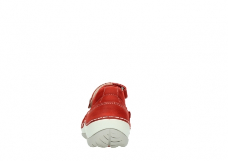 wolky chaussures a bride 04804 elation 10570 nubuck rouge_7