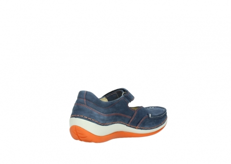 wolky riemchenschuhe 04804 elation 10830 denim orange nubuck_10