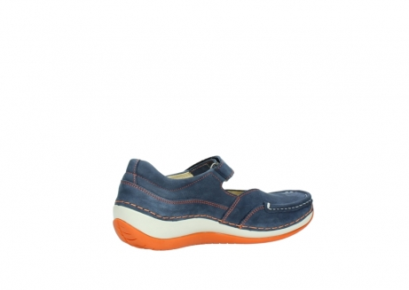 wolky riemchenschuhe 04804 elation 10830 denim orange nubuck_11