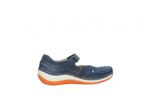 wolky riemchenschuhe 04804 elation 10830 denim orange nubuck_12