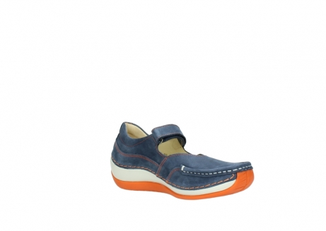 wolky riemchenschuhe 04804 elation 10830 denim orange nubuck_16