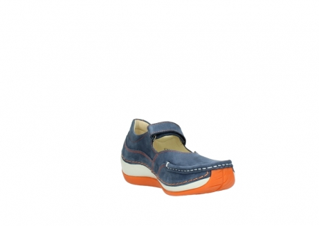 wolky riemchenschuhe 04804 elation 10830 denim orange nubuck_17