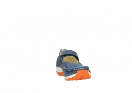 wolky riemchenschuhe 04804 elation 10830 denim orange nubuck_18