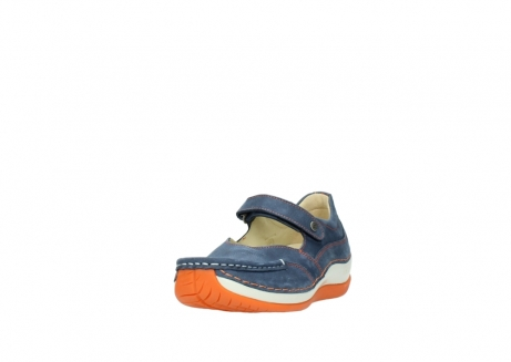 wolky riemchenschuhe 04804 elation 10830 denim orange nubuck_21