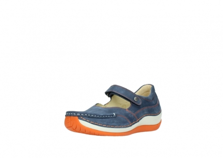 wolky riemchenschuhe 04804 elation 10830 denim orange nubuck_22